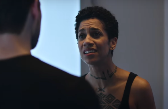 Dominique Tipper in The Expanse (Amazon)