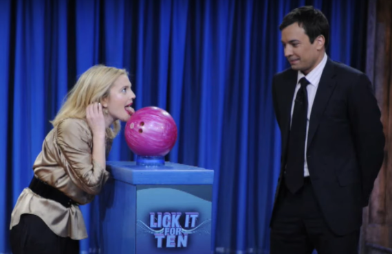 Drew Barrymore on Late Night with Jimmy Fallon (NBC)