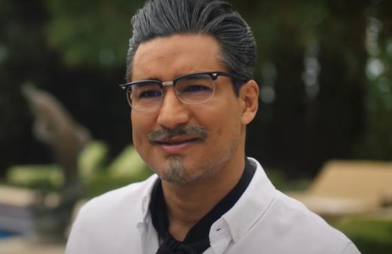 Mario Lopez in A Recipe for Seduction (Lifetime)
