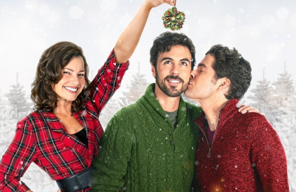 Fran Drescher, Ben Lewis and Blake Lee star in The Christmas Setup (Lifetime)