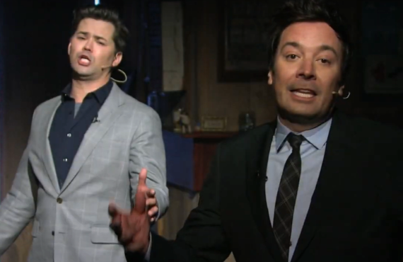 Andrew Rannells on The Tonight Show Starring Jimmy Fallon (NBC)