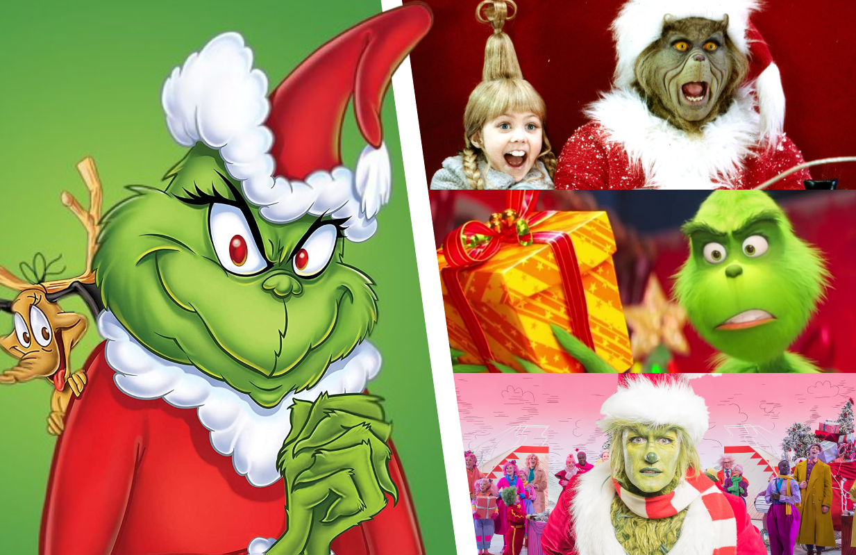 Ever the mean one, ever the green one. How the Grinch Stole Christmas in its many forms.