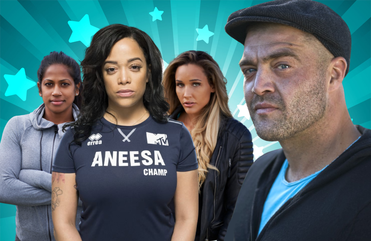 Natalie Anderson, Aneesa Ferreira, Lolo Jones and Chris 'C.T.' Tamburello are among the 30 competitors in The Challenge: Double Agents, (MTV)