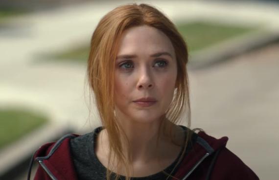 Elizabeth Olsen in WandaVision (Disney+)
