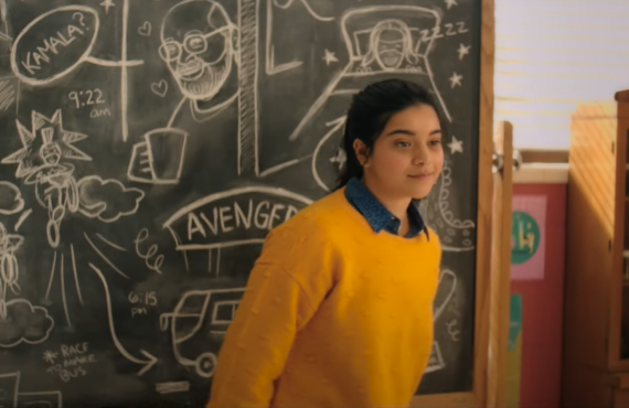 Iman Vellani as Kamala Khan in Ms. Marvel (Disney+)