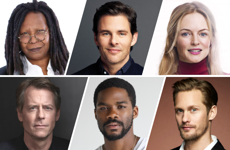 Whoopi Goldberg, James Marsden, Heather Graham, Greg Kinnear, Jovan Adepo and Alexander Skarsgard are among the familiar faces inThe Stand (CBS All Access)