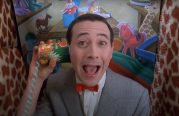 Paul Reubens as Pee-Wee Herman in Pee-Wee's Playhouse Christmas Special