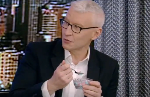 Anderson Cooper on Live with Kelly and Ryan (ABC)