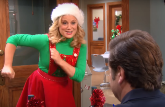 Amy Poehler on Parks & Recreation (NBC)