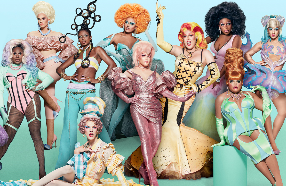The Queens of RuPaul's Drag Race Season 13. (VH1)