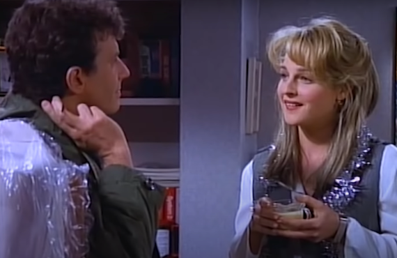 Paul Reiser and Helen Hunt in Mad About You (NBC)