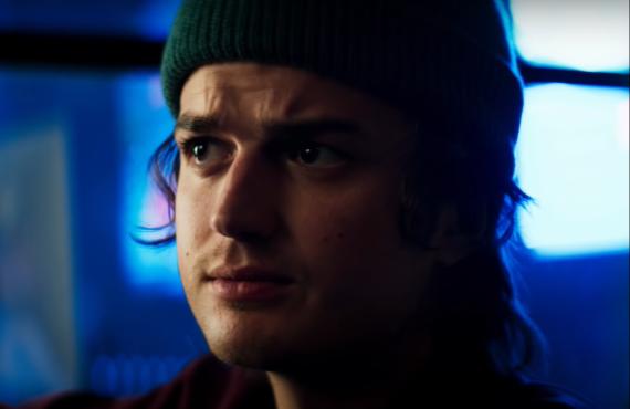Joe Keery in Death to 2020 (Netflix)