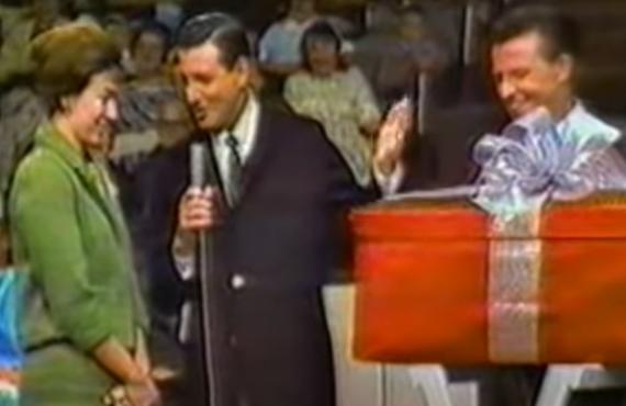 Monty Hall on Let's Make a Deal