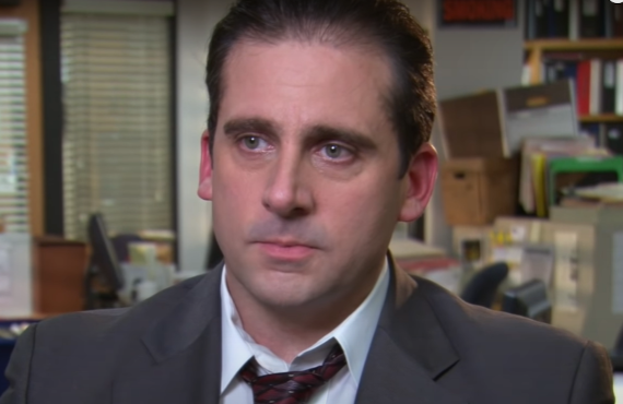 Steve Carell in The Office (Peacock)
