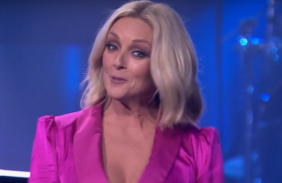 Jane Krakowski on Name That Tune (Fox)