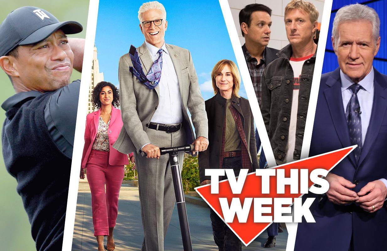 TV This Week: Tiger, Mr Mayor, Cobra Kai and Jeopardy!.