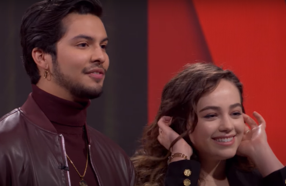 Xolo Maridueña and Mary Mouser on Netflix Afterparty