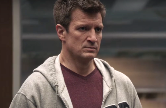 Nathan Fillion as The Rookie (ABC)