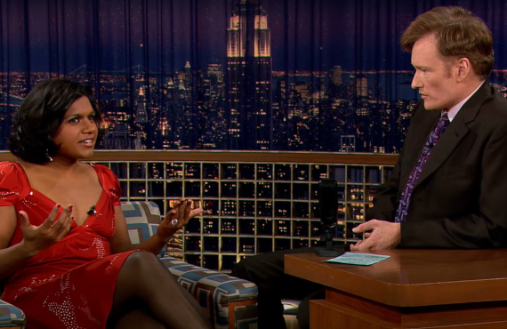 Mindy Kaling on Late Night with Conan O'Brien (NBC)