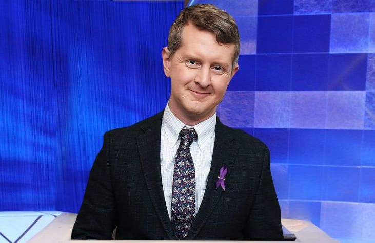 Ken Jennings steps behind Alex Trebek's legendary lectern as he becomes the show's first-ever interim guest host.