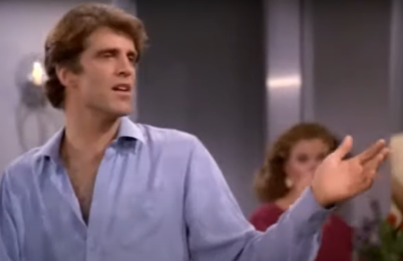 Ted Danson on Taxi