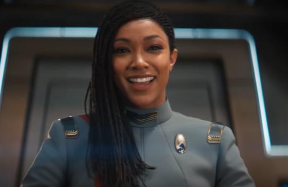 Sonequa Martin-Green in Star Trek: Discovery (CBS All Access)