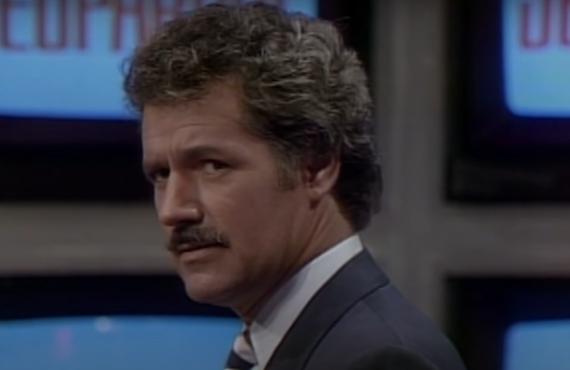 Alex Trebek on Jeopardy! (NBC)