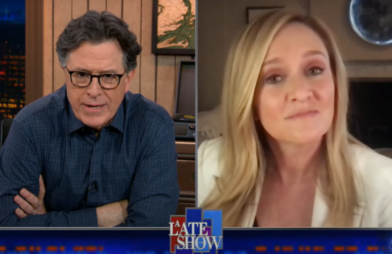 Samantha Bee on The Late Show with Stephen Colbert (CBS)