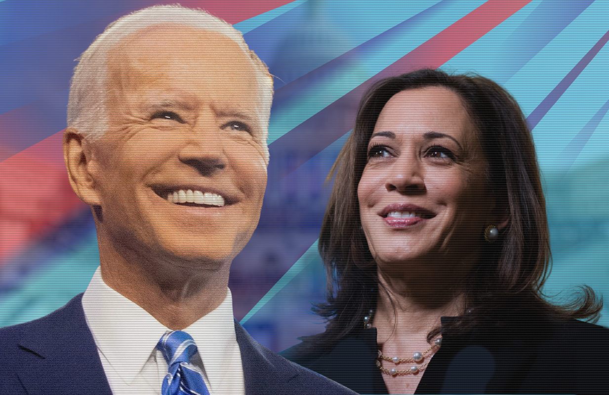 Joe Biden and Kamala Harris will be sworn in on the steps of the U.S. Capitol today.