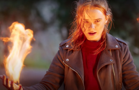 Abigail Cowen in Fate: The Winx Saga (Netflix)