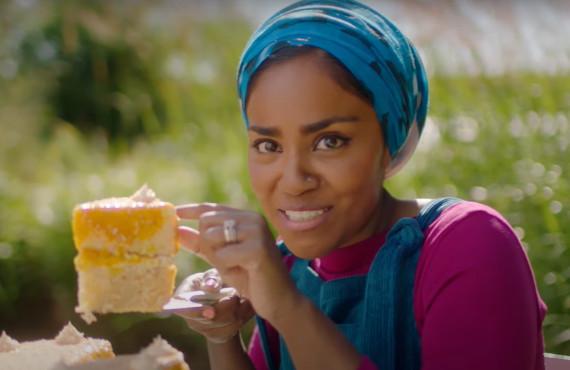 Nadiya Hussain in Nadiya Bakes (Netflix)