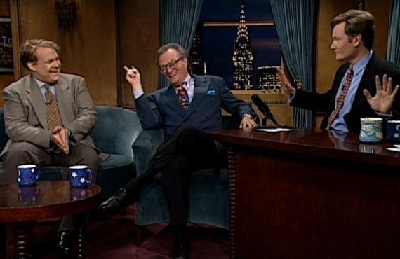 Larry King on Late Night with Conan O'Brien (NBC)