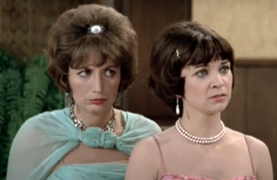 Penny Marshall and Cindy Williams in Laverne & Shirley (ABC)