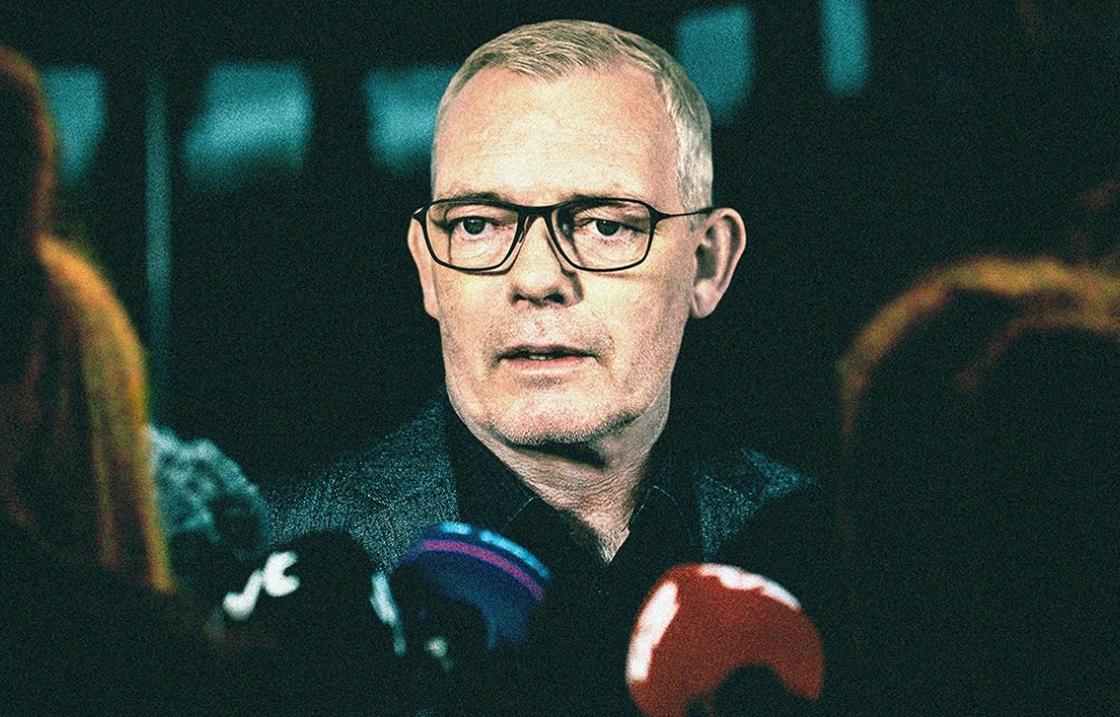 Søren Malling plays Copenhagen homicide chief Jens Møller in The Investigation. (HBO)
