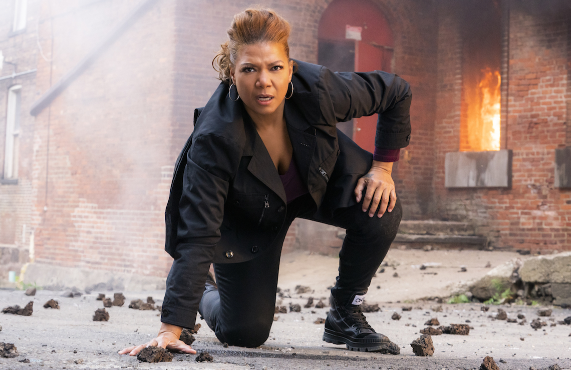 Queen Latifah is The Equalizer. (Photo: Barbara Nitke / CBS)