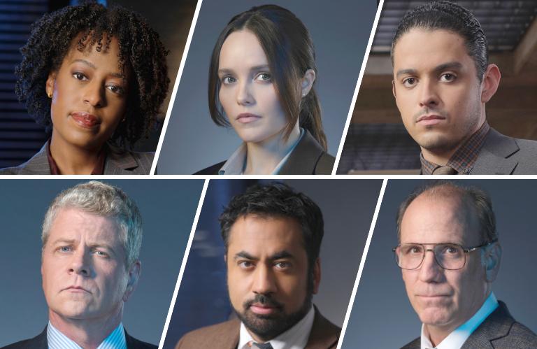 The cast of Clarice on CBS.