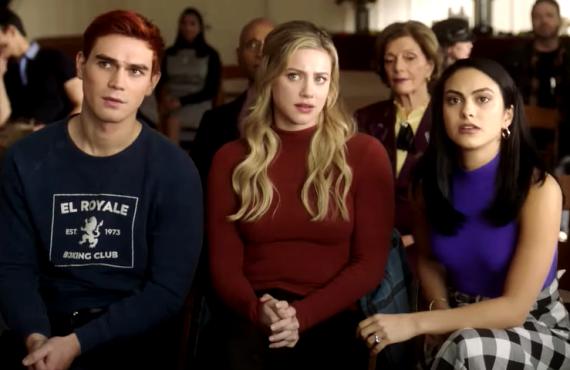 K.J. Apa, Lili Reinhart, Camila Mendes in Riverdale (CW)