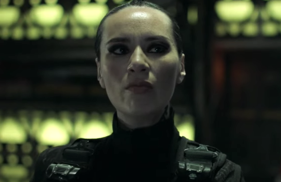 Cara Gee in The Expanse (Amazon)