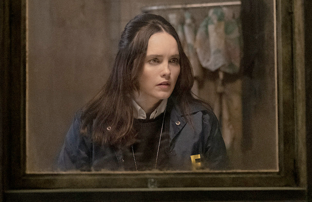 Rebecca Breeds stars as Agent Starling in Clarice. (CBS)