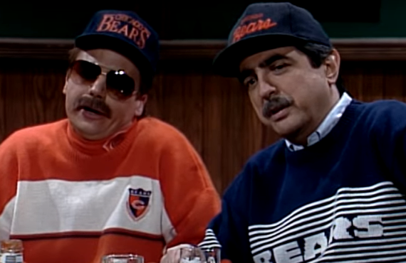 Mike Myers and Joe Mantegna on Saturday Night Live (NBC)
