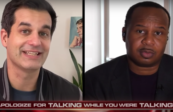 Michael Kosta and Roy Wood Jr. on The Daily Show with Trevor Noah (Comedy Central)