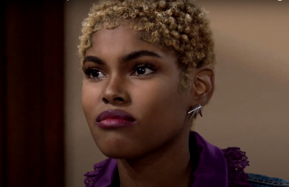 Diamond White on The Bold and the Beautiful (CBS)