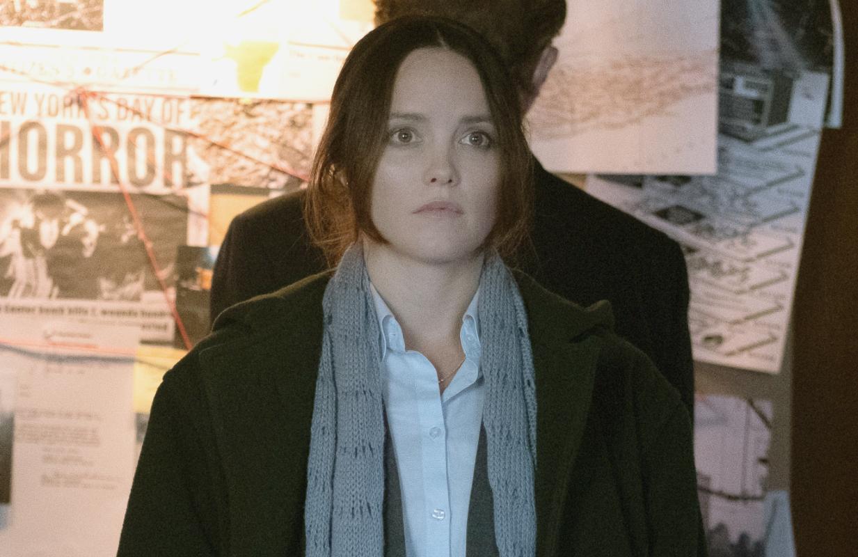 Rebecca Breeds stars in Clarice. (CBS)