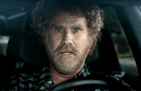 Will Ferrell in General Motors Super Bowl commercial