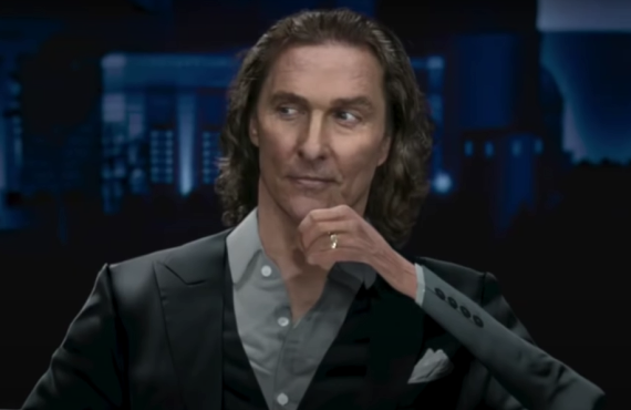 Matthew McConaughey in Doritos 3D Super Bowl Commercial