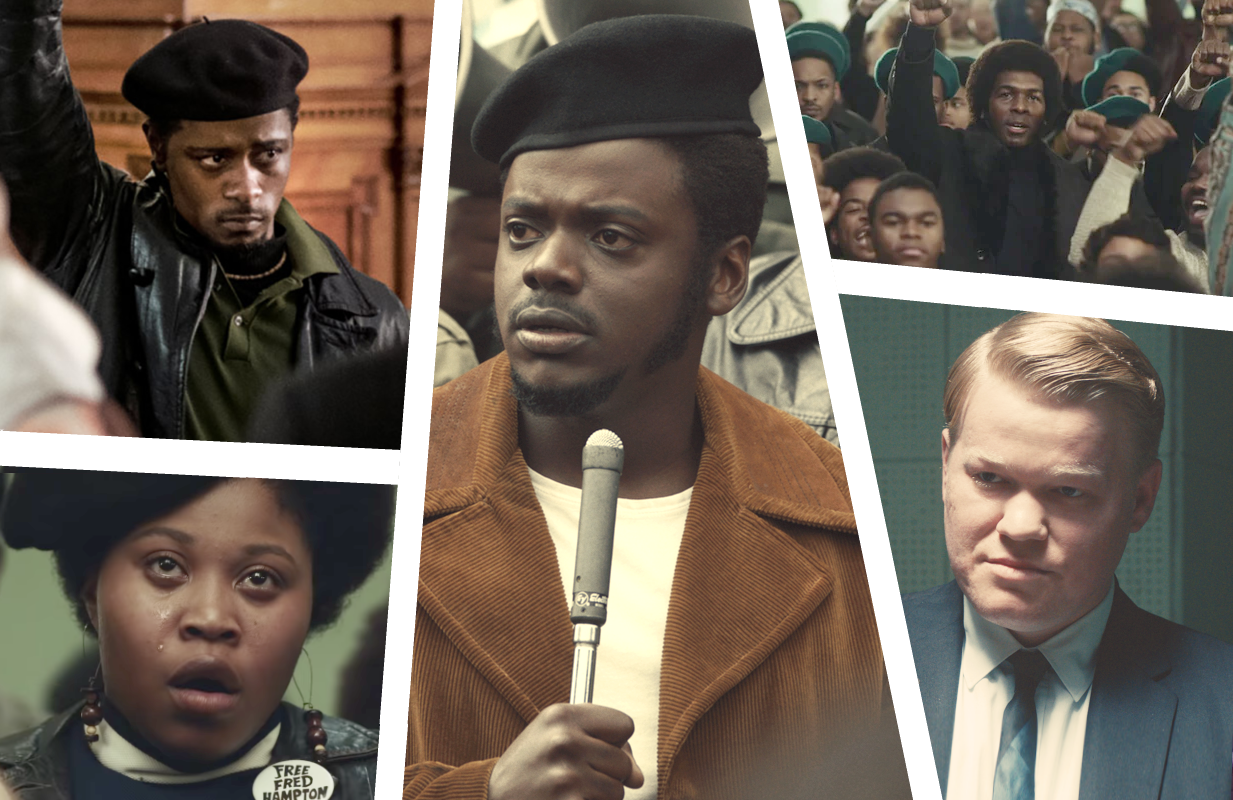 LaKeith Stanfield,  Dominique Fishback, Daniel Kaluuya and Jesse Plemons star in Judas and the Black Messiah (Photos: Warner Bros/HBO Max)
