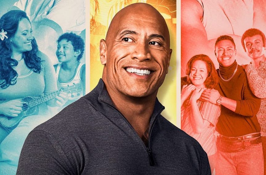 "In Young Rock, the story of Dwayne ""The Rock"" Johnson's early life is told This Is Us-style, across three three timelines. (NBC)"
