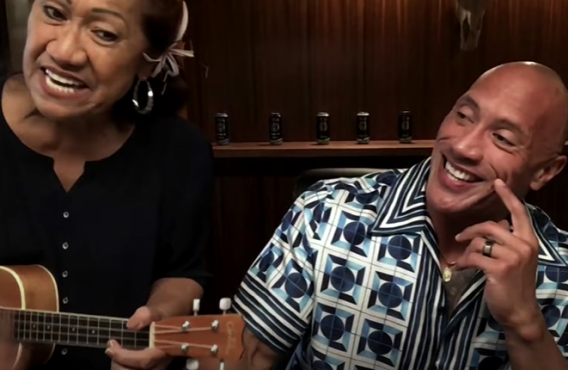Dwayne Johnson and his Mom on The Tonight Show Starring Jimmy Fallon (NBC)
