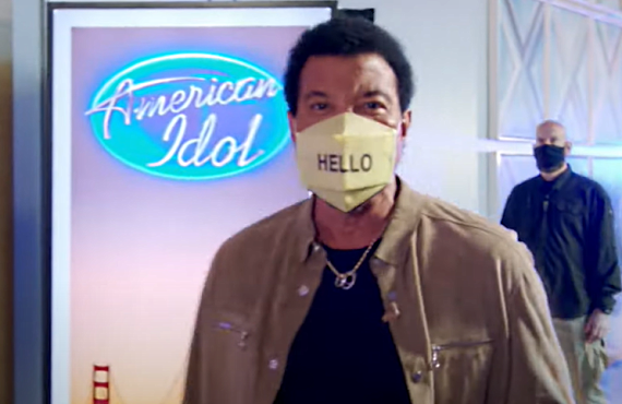 Lionel Richie on American Idol (Fox)