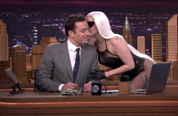 Lady Gaga on The Tonight Show Starring Jimmy Fallon (NBC)